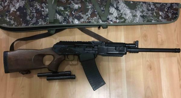 Продам карабин Вепрь-12*76 Молот (ВПО-205-04) г. Ленск (Якутия САХА)